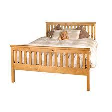 King Size Wooden Bed Frame: Amazon.co.uk