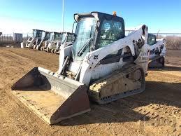 bobcat t compact track loader in orlando florida united lot 126 2013 bobcat t650 compact track