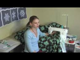 Quilting BIG Quilts on a Small Machine - YouTube &  Adamdwight.com