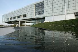 Filethe reagan library oval office Oleg Gordievsky Modern Building Sweeping Over Body Of Water From Land Thoughtco Presidential Libraries And How Theyre Made