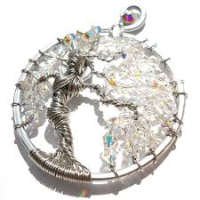 tree of life dess pendant silver opalescent right