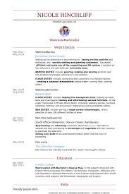 Barista Resume Interesting Resume Examples Barista Resume Examples Pinterest Resume