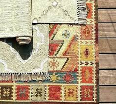 outdoor rug pottery barn rugs scroll to previous item diamond indoor kilim rosario recycled yarn