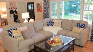 To Decorate My Living Room Decorating My Living Room For Fall Fall Living Room Tour Youtube