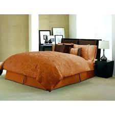 burnt orange comforter set bedroom bedding sets poll what color walls with and gold burnt orange comforter