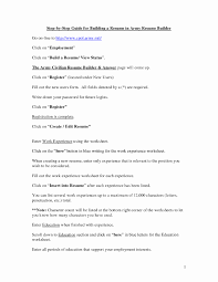 Army Resume Builder Resume Template Easy Http Www