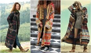 Лёгкие платья с затейливыми узорами, кимоно с бахромой, летние замшевые сапоги, льняное кружево, бисер и вышивка. Palto Puhovik Ili Kurtka V Stile Boho Kak Vybrat