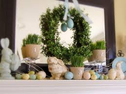 Formidable Spring Has Sprung Ideas Also Decorating Your Mantel Year Round  Decorating in Fireplace Mantel Decor