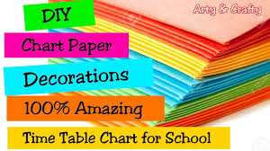Chart Decoration Ideas For School School Timetable Class Timetable Chart Paper Decoration
