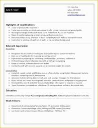 47 Free Resume Templates For No Work Experience