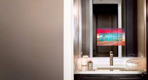 Bathroom Mirror With TV Seura