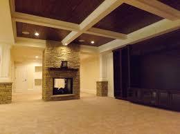 basement wood ceiling ideas. Decoration Basement Wood Ceiling Ideas Coffered With Paneling T