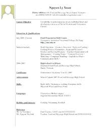 waitress sample resume sample resume waitress objective statement for example no experience