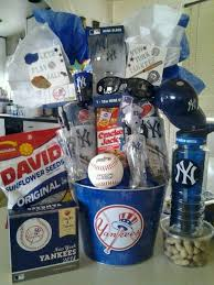 ny yankees raffle basket also perfect for a birthday gift or an easter basket auction items raffle baske