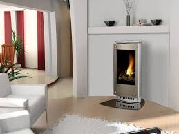 ... Favorable Ideas Of Freestanding Fireplace Designs In Home Interior  Decoration : Awesome Chrome Frame Free Standing ...