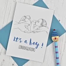 New Baby Congratulations Cards New Baby Congratulations Card By Adam Regester Design