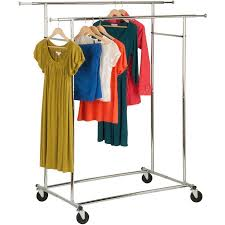 Collapsible Coat Rack New Honey Can Do Dual Collapsible Garment Rack Chrome Walmart