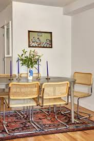 retro cantilever dining chairs