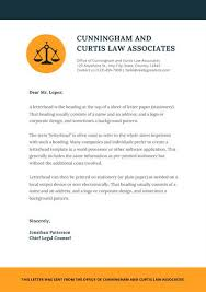 Law Templates Orange Justice Icon Law Firm Letterhead Templates By Canva