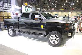Truck chevy concept truck : SEMA 2016: Chevrolet Goes BIG With Concept Trucks
