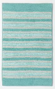 striped bathroom rugs oceanside striped bath rug everything turquoise