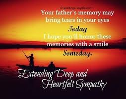 Sympathy Quotes For Loss Of Father
