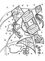 Small Picture Stained glass looking kite to color Kite Coloring Pages