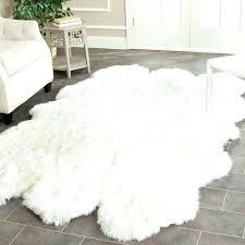 faux skin rug faux skin rugs hand woven sheepskin pelt white rug 4 x 6 a animal fur fake tiger skin rug with full head