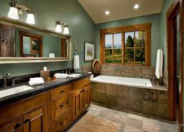 Bathroom Perfect Country Bathroom Idea Using Small Vanity And Blue