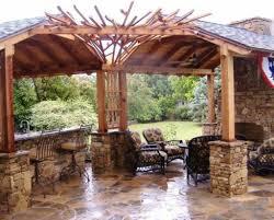 Best Outdoor Kitchen Designs Kitchen Amusing Outdoor Kitchen Design Under Wooden Gazebo As
