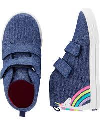 Oshkosh Toddler Shoe Size Chart Oshkosh Unicorn High Top Sneakers Skiphop Com