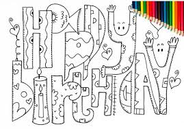 Print out this pinata coloring page for your next birthday party and get the kids in the mood for some fun party games. Happy Birthday Coloring Pages Adult Coloring Pages Printable Etsy