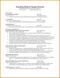 Free Assistant Principal Resume Templates Educational Resume Template Education On Student In Progress Most 78