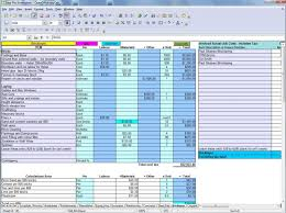 Construction Estimating Spreadsheet Template Sosfuer Spreadsheet