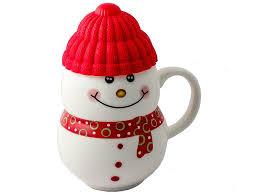 <b>Кружка Эврика Снеговик</b> Red 96955 безналичными - ElfaBrest