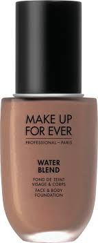 make up for ever water blend face body foundation 50ml y505 cognac