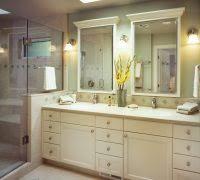 diy tile framed bathroom mirror. diy bathroom mirror frame ideas traditional with glass shower door floral arrangement tile framed s