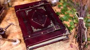making a heavy spellbook with real leather