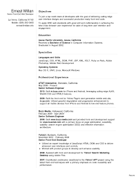 Front End Developer Sample Resume New Android Developer Resume