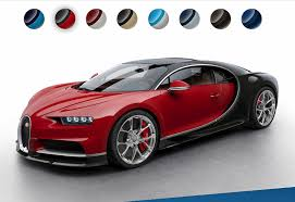 Small Picture See the Bugatti Chiron in more colors thanks to configurator