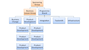 Software Development Org Chart Large Programme Org Chart Its A Delivery Thing