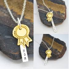 gold medal inspirational necklaces