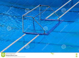 olympic swimming pool background. Olympic Water Polo Goal Gate Swimming Pool Background N