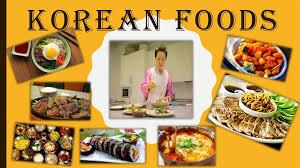 Presentation Foods Korean Foods Online Presentation