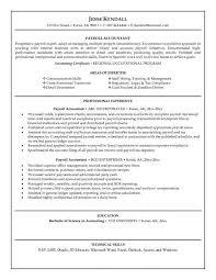Sample Bookkeeper Resume Musiccityspiritsandcocktail Com