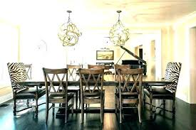 Chandelier Size For Dining Room Beauteous Dining Table Chandeliers Peeryapartments