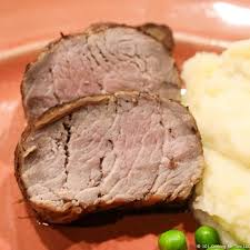 pan seared oven roasted pork tenderloin