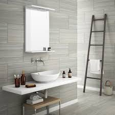 monza grey wood effect tile wall and floor 600 x 300mm 5 bathroom