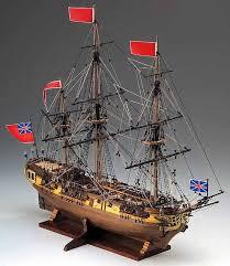 hms greyhound wooden ship model kit