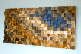 Reclaimed Wood Wall Art Large Wood Wall Art Custom Wood Art Decor Reclaimed Wood